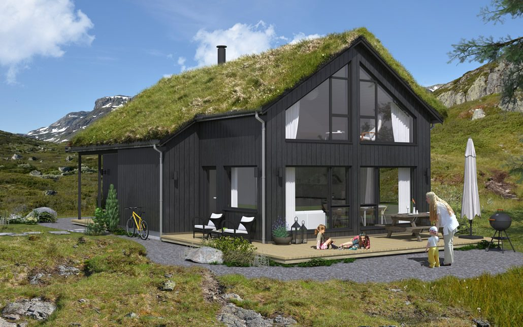 Bråstøl hyttemodell